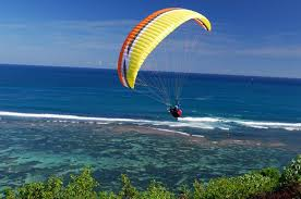 Sky diving to paragliding conversion
