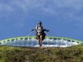 begining paragliding