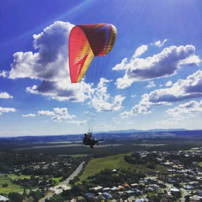 Share the joy of paragliding with your friends with a tandem (sports) endorsement
