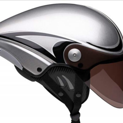 icaro-jet mr-helmet-brushed aluminium