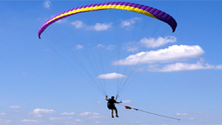 paragliding course and equipment deal