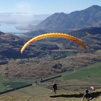 The mito paraglider is a great all-rounder glider