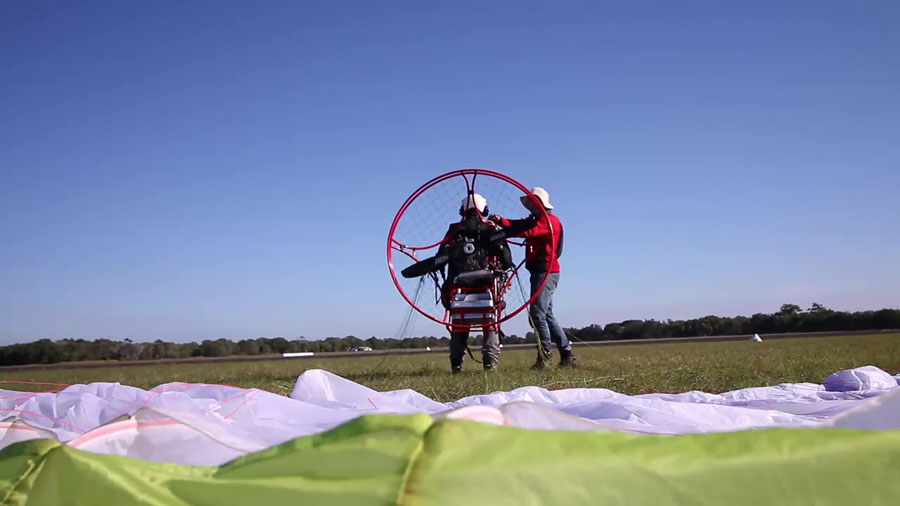 best paramotor training