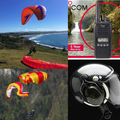 Paragliding/Paramotor Equipment