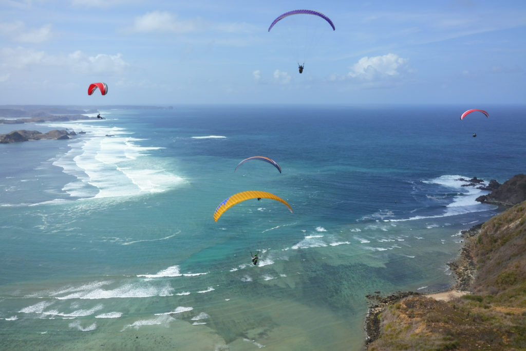 Poliglide Paragliding Tour