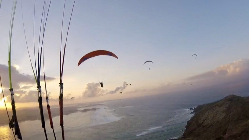 Poliglide Paragliding Tours Lombok