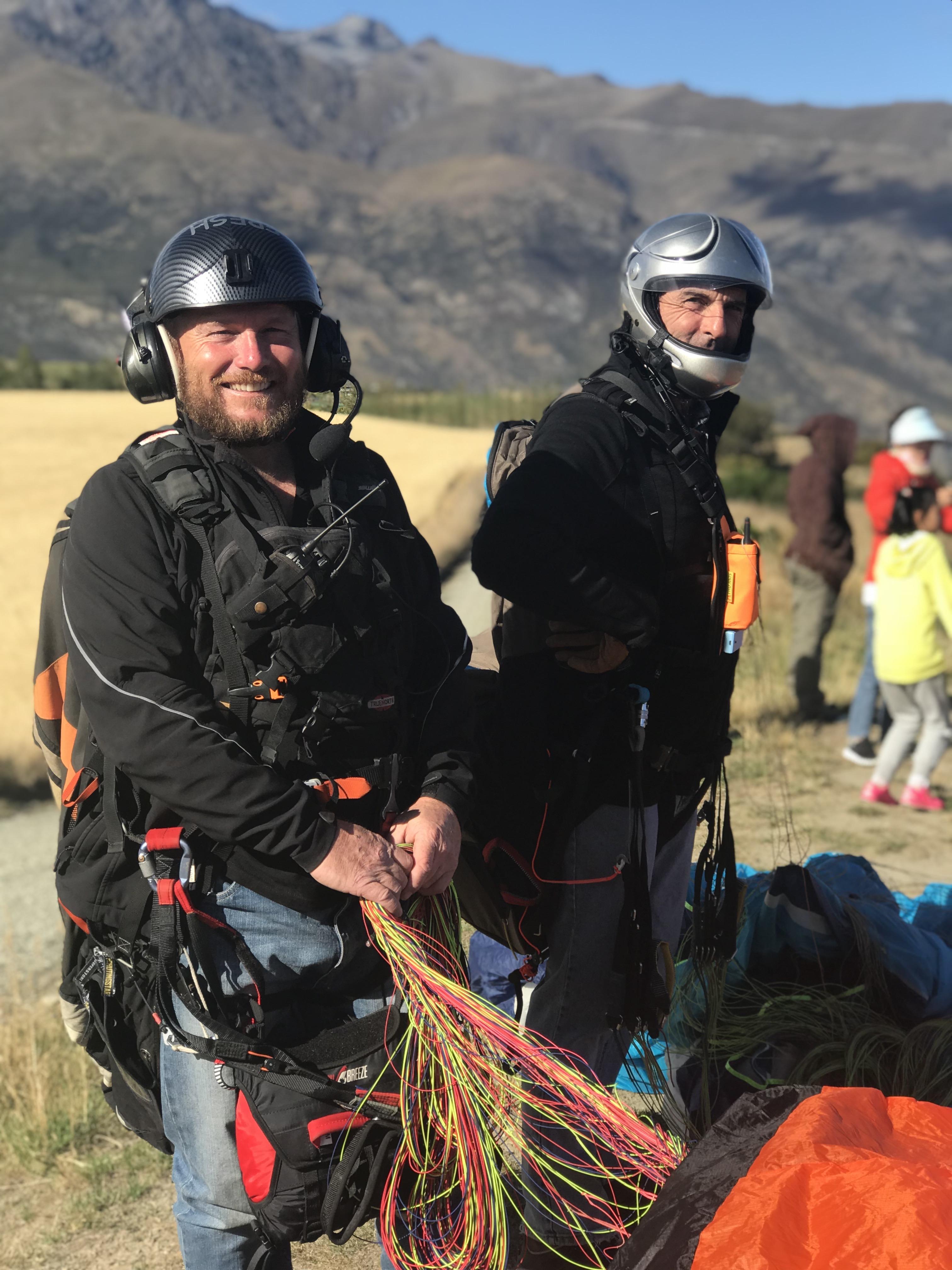 Southern Alps paragliding tour